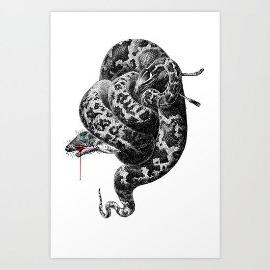 hunger Art Print