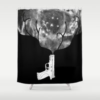 big bang Shower Curtains featuring Big Bang by Beyond Infinite