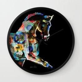 Horse (Cirque de soleil) Wall Clock