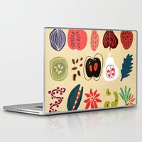 spice Laptop & iPad Skins featuring Fruit and Spice Rack by Picomodi