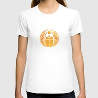 egypt T-shirts featuring The Spirit of Egypt by Trapezoid