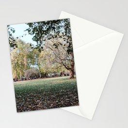 Parque de Londres en otoño. Stationery Cards