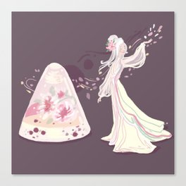 Sakura Jelly Canvas Print
