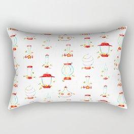 Hummingbird Feeders Pattern Rectangular Pillow