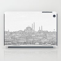 istanbul iPad Cases featuring İstanbul by Necla Karahalil