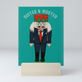 Suited and Booted Mini Art Print