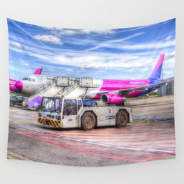 Wizz Air Airbus A321 Wall Tapestry
