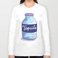 tequila Long Sleeve T-shirts featuring Tequila by - OP -