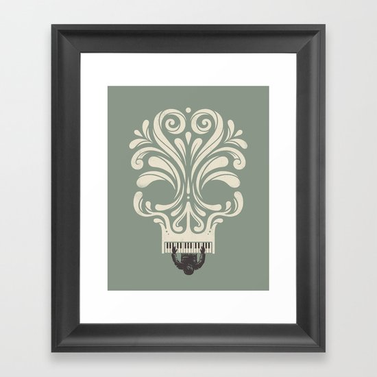 Killer Song Framed Art Print