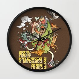 Run Forest Run ! Wall Clock