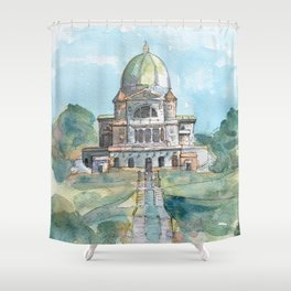 Saint Joseph's Oratory on Mount Royal Shower Curtain