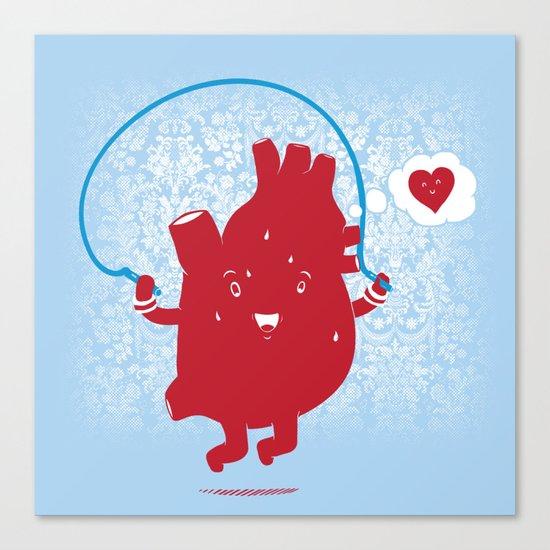 Cardio Ambition Canvas Print