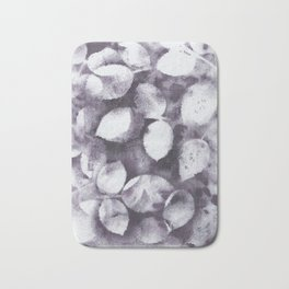 Purple leaves Bath Mat