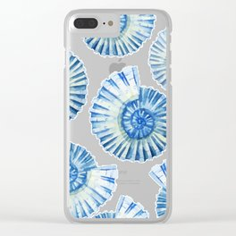 Sea Life Pattern 04 Clear iPhone Case