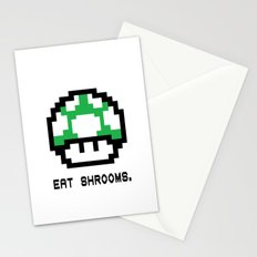 EAT SHROOMS Stationery Cards