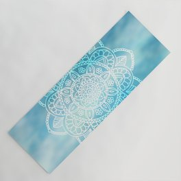 Blue Sky Mandala Yoga Mat