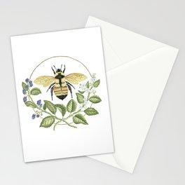 Bombus & Blackberries Stationery Cards