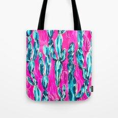 Hot Pink Cacti Tote Bag