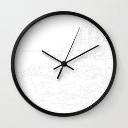 Clevedon Wall Clock