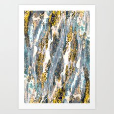 Print Texture  Art Print