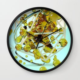 Hvati Wall Clock