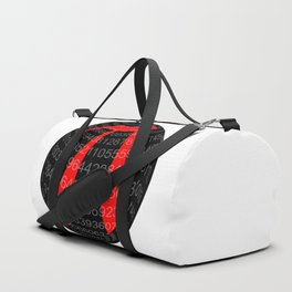 Pi Isolated Sphere Duffle Bag