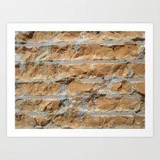 Cut Stone Art Print