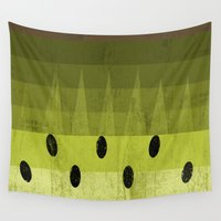 kiwi Wall Tapestries featuring Kiwi by Kakel