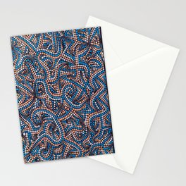 Blue Day Off Stationery Cards