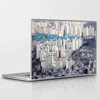 metropolis Laptop & iPad Skins featuring Metropolis by Karolina Ostrowska