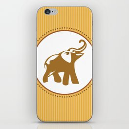 Elephant Print iPhone Skin