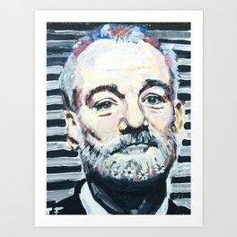 Bill Murray # 2 Art Print