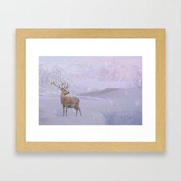 Winter Story Framed Art Print