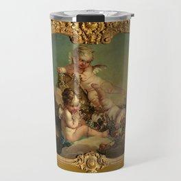 """François Boucher """"Allegory of Autumn"""" Travel Mug"""