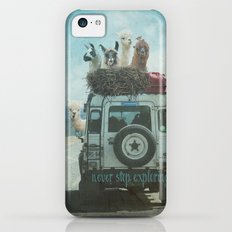 NEVER STOP EXPLORING II SUMMER EDITION iPhone 5c Slim Case