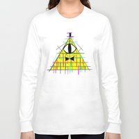 bill cipher Long Sleeve T-shirts featuring CIPHER by BMAN0212