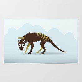 God's Zoo: Tasmanian Tiger Rug
