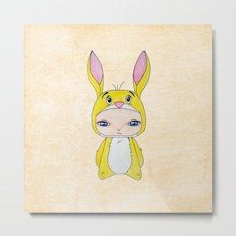 A Boy - Rabbit (coco lapin) Metal Print
