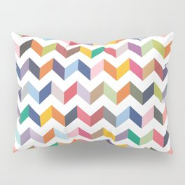 Aztec Geometric Chevron Pattern Pillow Sham