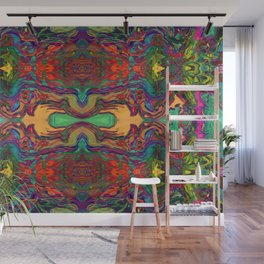 Jungle Vibes Wall Mural