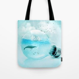 Below the Surface Tote Bag