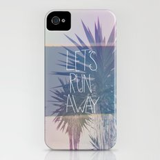 Let's Run Away: Monte Verde, Costa Rica Slim Case iPhone (4, 4s)