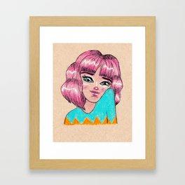Kimmie Framed Art Print