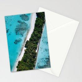 Maldivian long island Stationery Cards