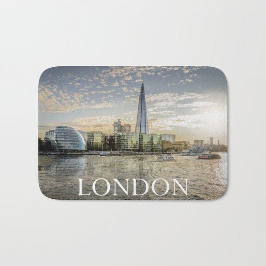 London waterfront Bath Mat