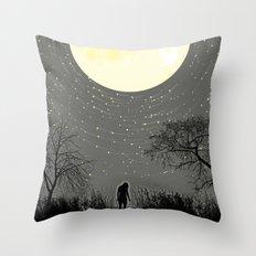 My Darkest Star Throw Pillow