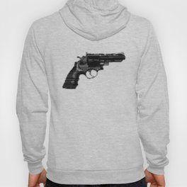 8bit glitch 357 Magnum Revolver Hoody