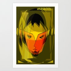 ANDROID. Art Print