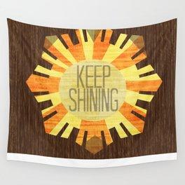 Baby Keep Shining Wall Tapestry
