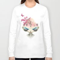 queen Long Sleeve T-shirts featuring Queen by Meatard
